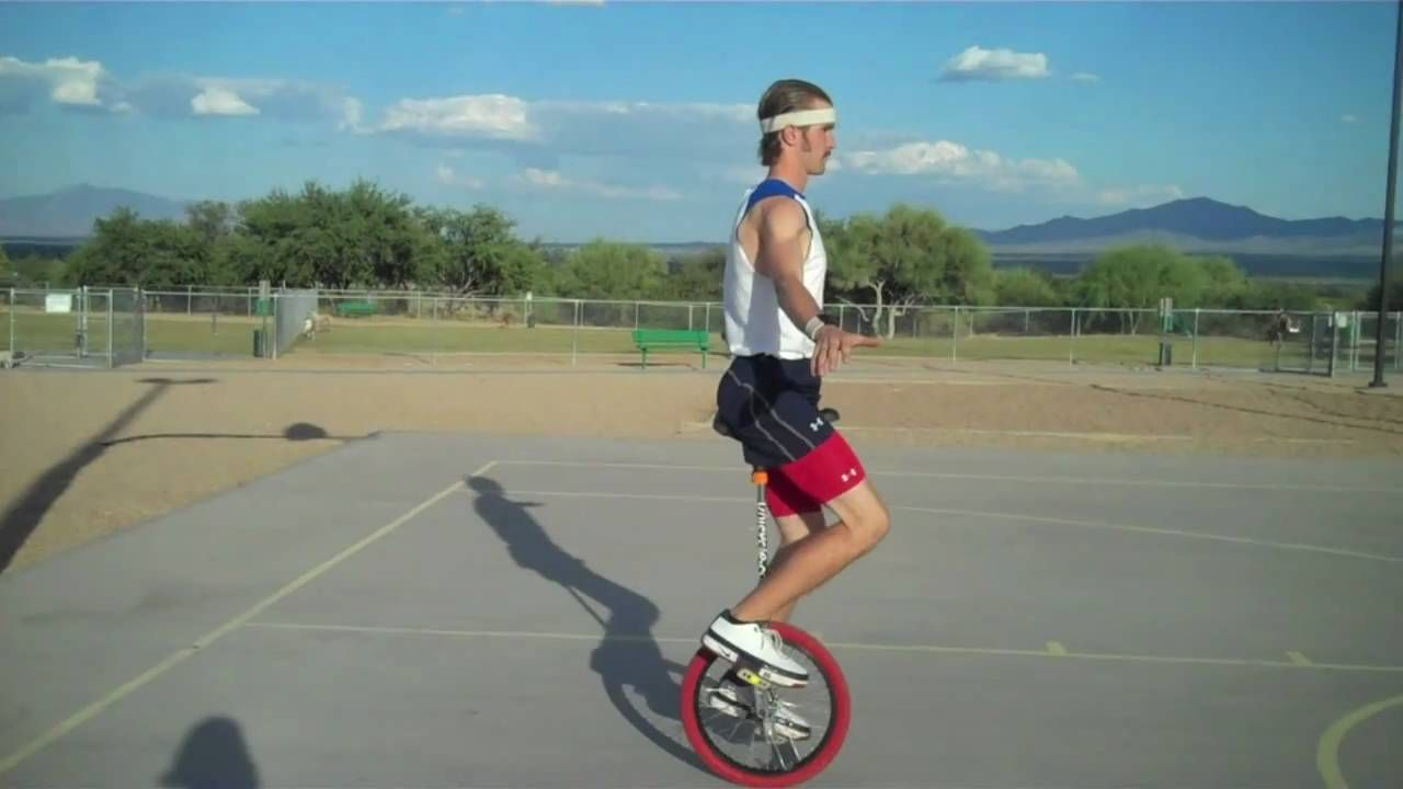How To Ride A Unicycle Tutorial Unicycle Learning Workout