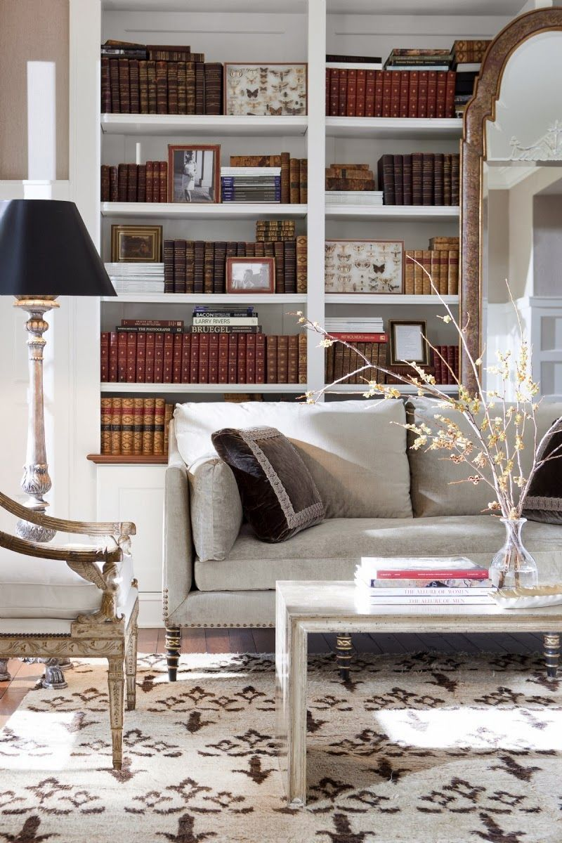 How To Design And Organize A Home Library Living Spaces