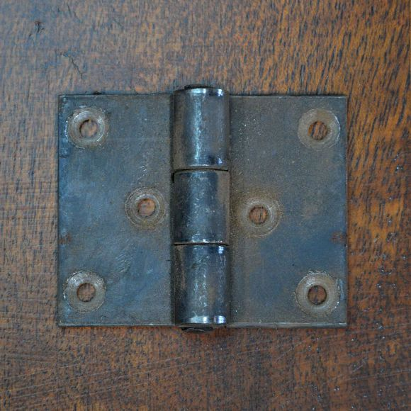 The Iron Hinge Is Hand Forged From Wrought Iron. These Cabinet Hinges  Feature A Smooth Finish. Serving As Rustic Hardware For Cabinets Or Doors.