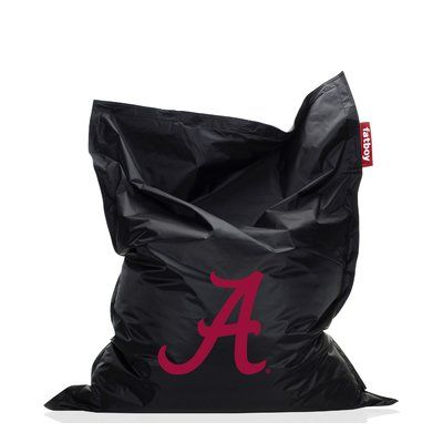 Collegiate Bean Bag Chair Ncaa Team Alabama Upholstery Black Http