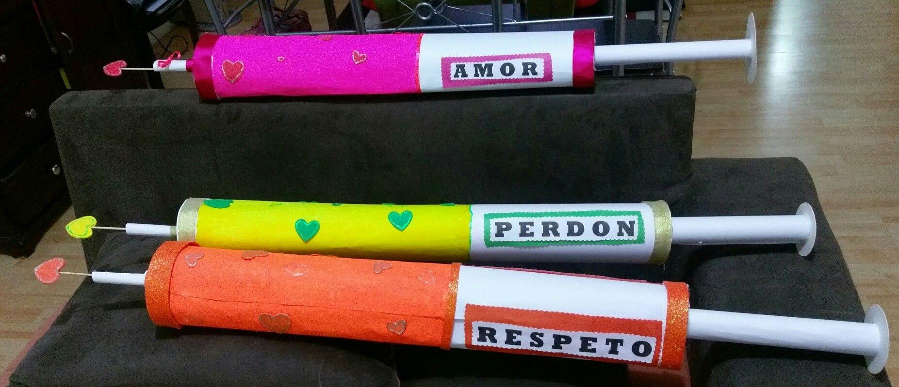 Jeringas En Carton Para Actividad Del Colegio Jeringas Carpetas Decoradas Manualidades