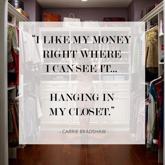 Well said, Carrie! #SATC