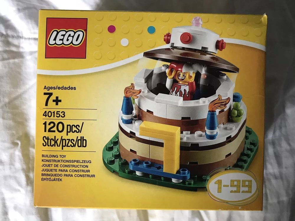 LEGO Birthday Party Cake Decoration 40153 NEW