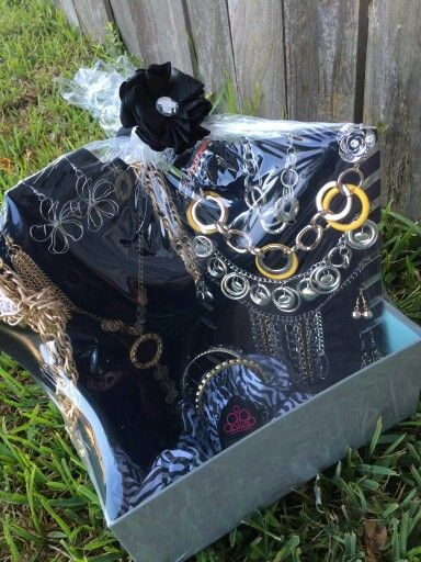 60 Silent Auction Basket Diy Jewelry Display Paparazzi Gifts Paparazzi Jewelry