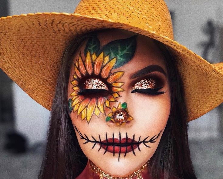 Scarecrow Halloween costume makeup#BeautyBlog #MakeupOfTheDay #MakeupByMe #MakeupLife #MakeupTutorial #InstaMakeup #MakeupLover #Cosmetics #BeautyBasics #MakeupJunkie #InstaBeauty #ILoveMakeup #WakeUpAndMakeup #MakeupGuru #BeautyProducts #scarecrowmakeup