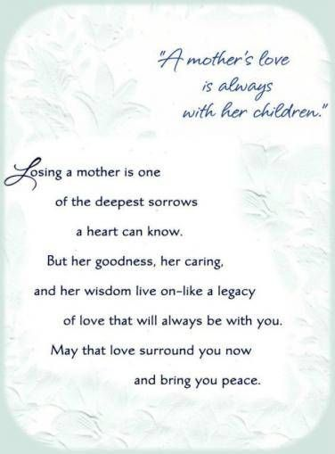 50 Beautiful Mother's Day Quotes To Honor Moms Who Have Passed Away