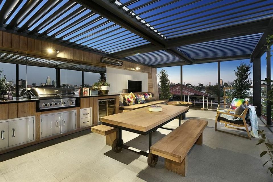Great roof option | Outdoor living design on Indoor Outdoor Entertaining Areas id=62973