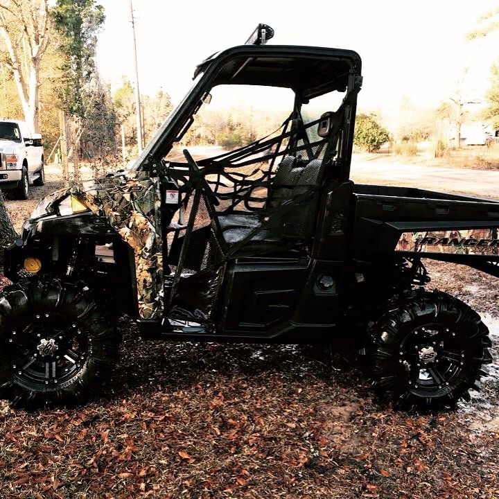 "My 2014 Polaris Ranger 900XP CAMO Custom, ""South Georgia Mud Goose"""