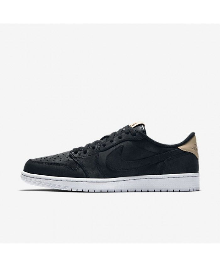 buy popular 2b8d9 60e57 Air Jordan 1 Retro Low OG Premium Black White Vachetta Tan 905136-010