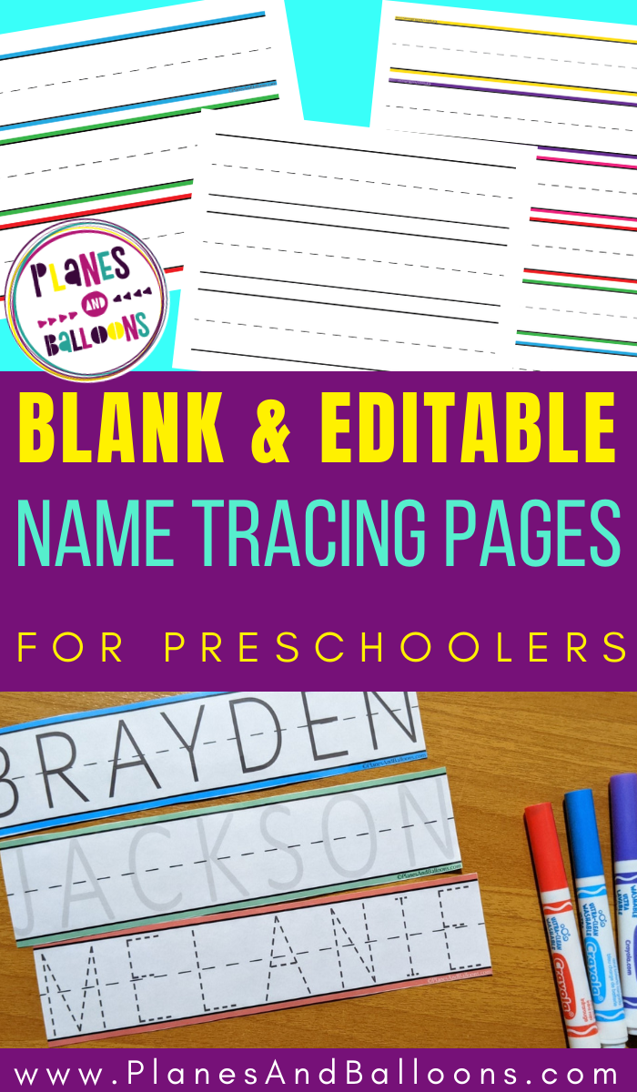 Blank Name Tracing Worksheets For Preschool Editable Pdf For Free Name Tracing Worksheets Name Tracing Kindergarten Worksheets Sight Words [ 1200 x 700 Pixel ]