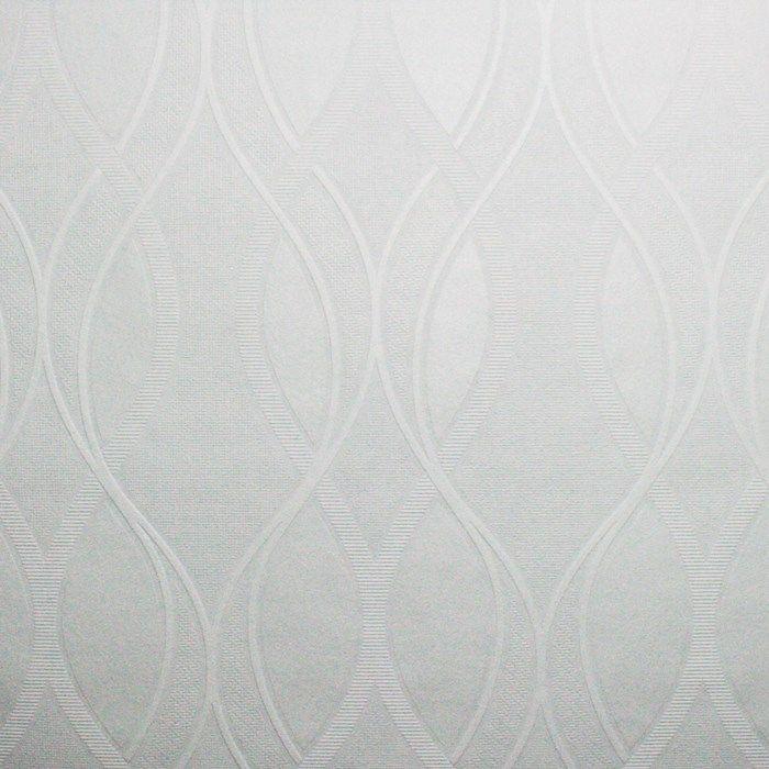 Elliot White Textured Wallpaper