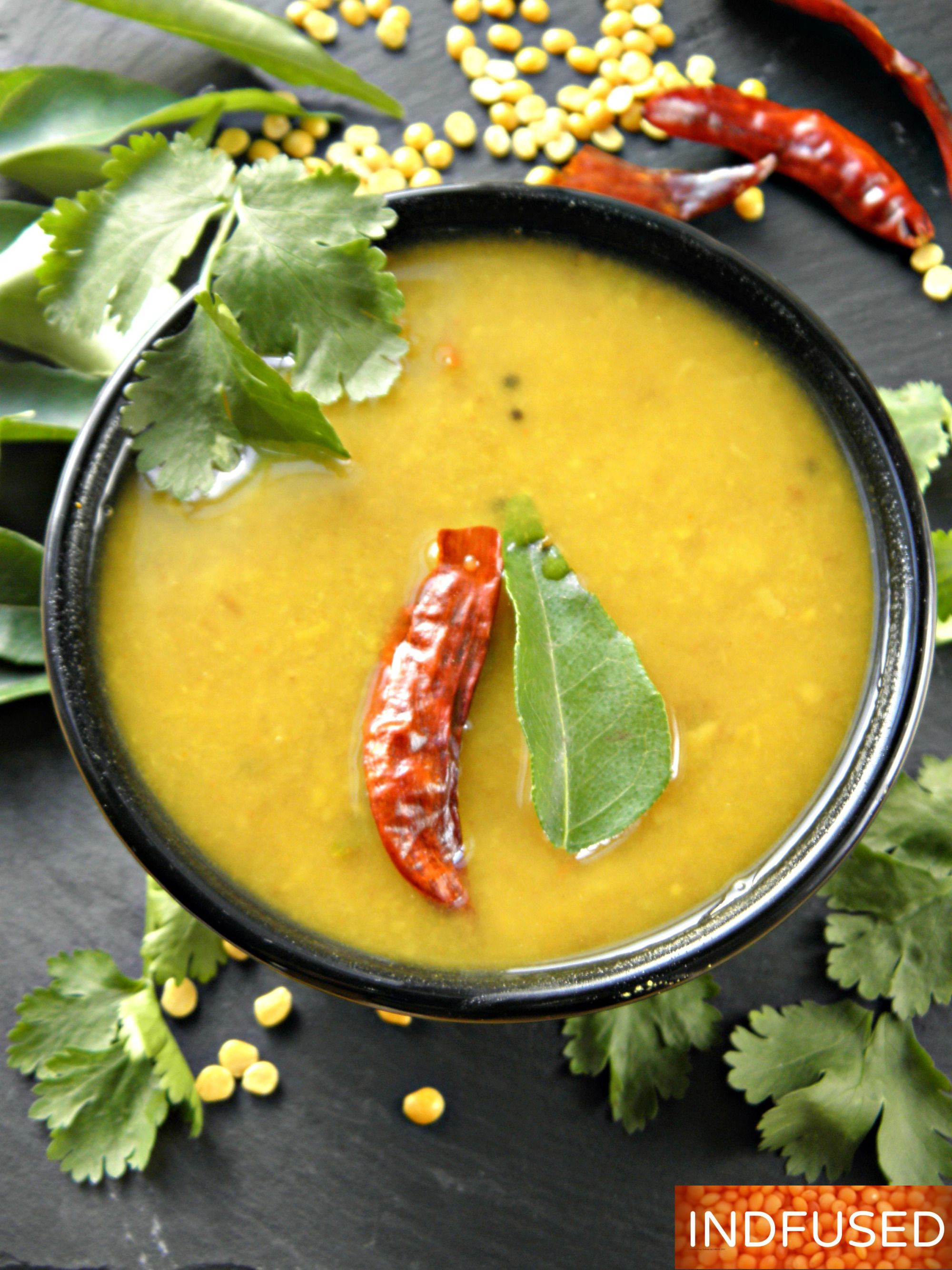 Authentic recipe for Godi dal- delectable Indian sweet and sour dal ...