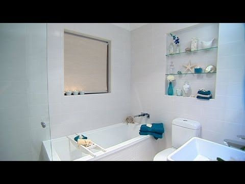 Bathroom makeover better homes and gardens tara dennis better homes and gardens tv australia pinterest