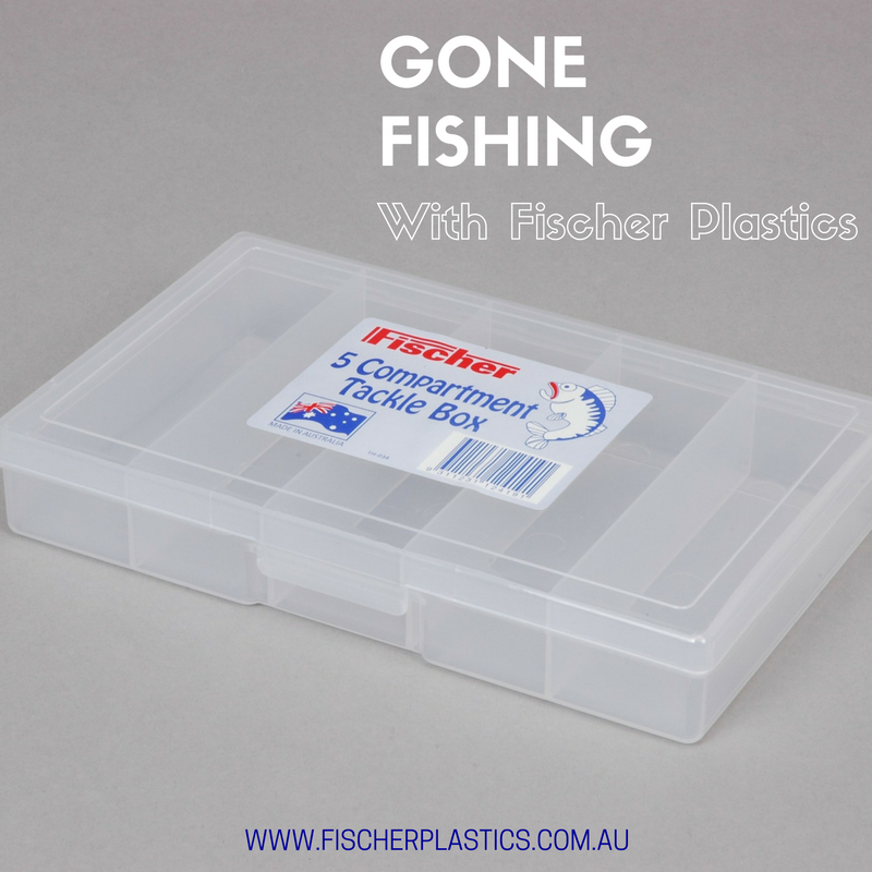 Our Fischer Plastics Five Compartment Tackle Box is perfect for storing all your small fishing pieces. The clear compartments ensure that all your fishing tackle is easy to find and stored safely.
