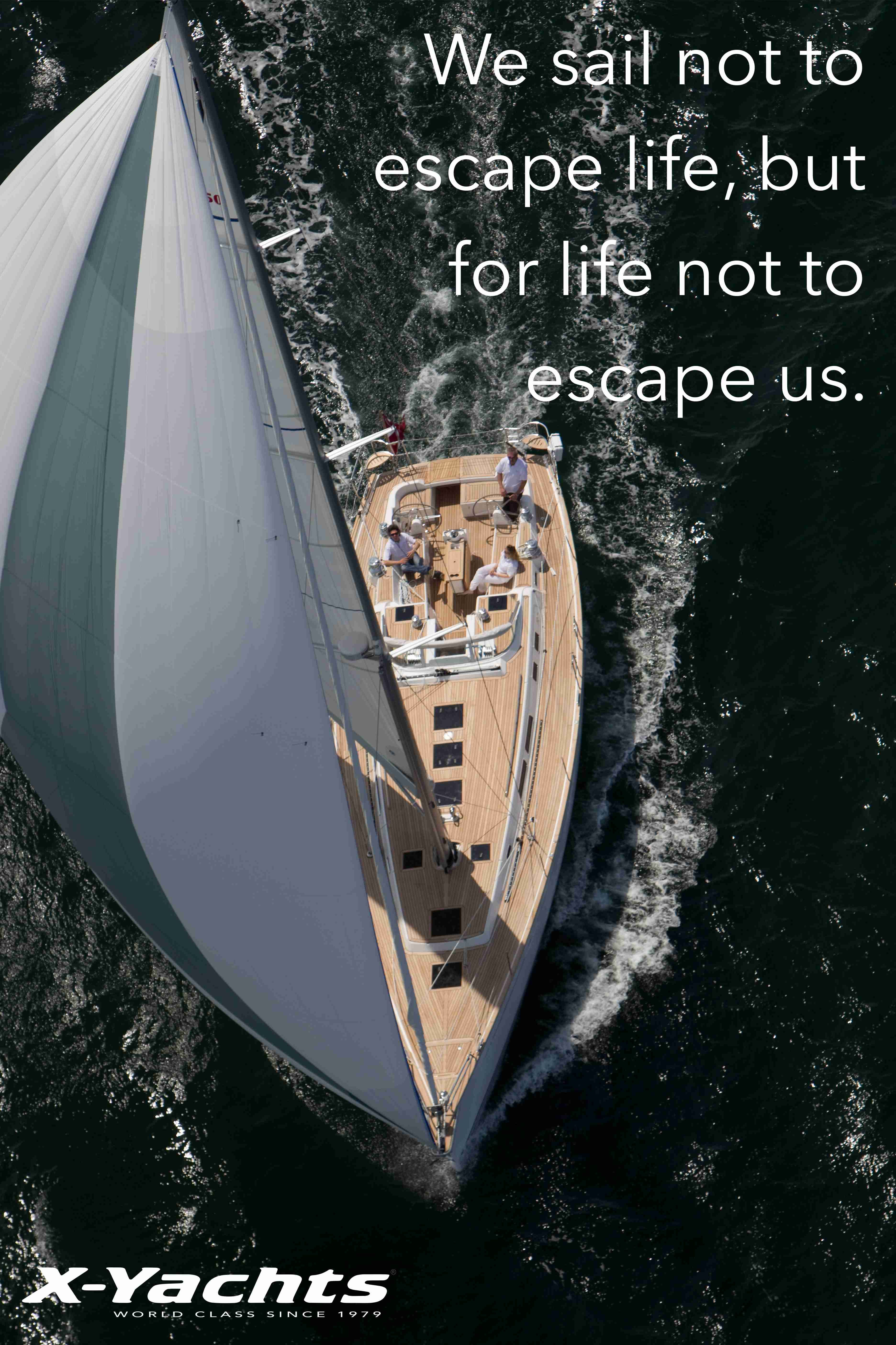 We Sail Not To Escape Life But For Life Not To Escape Us Wisdomfortheweekend Veleiros