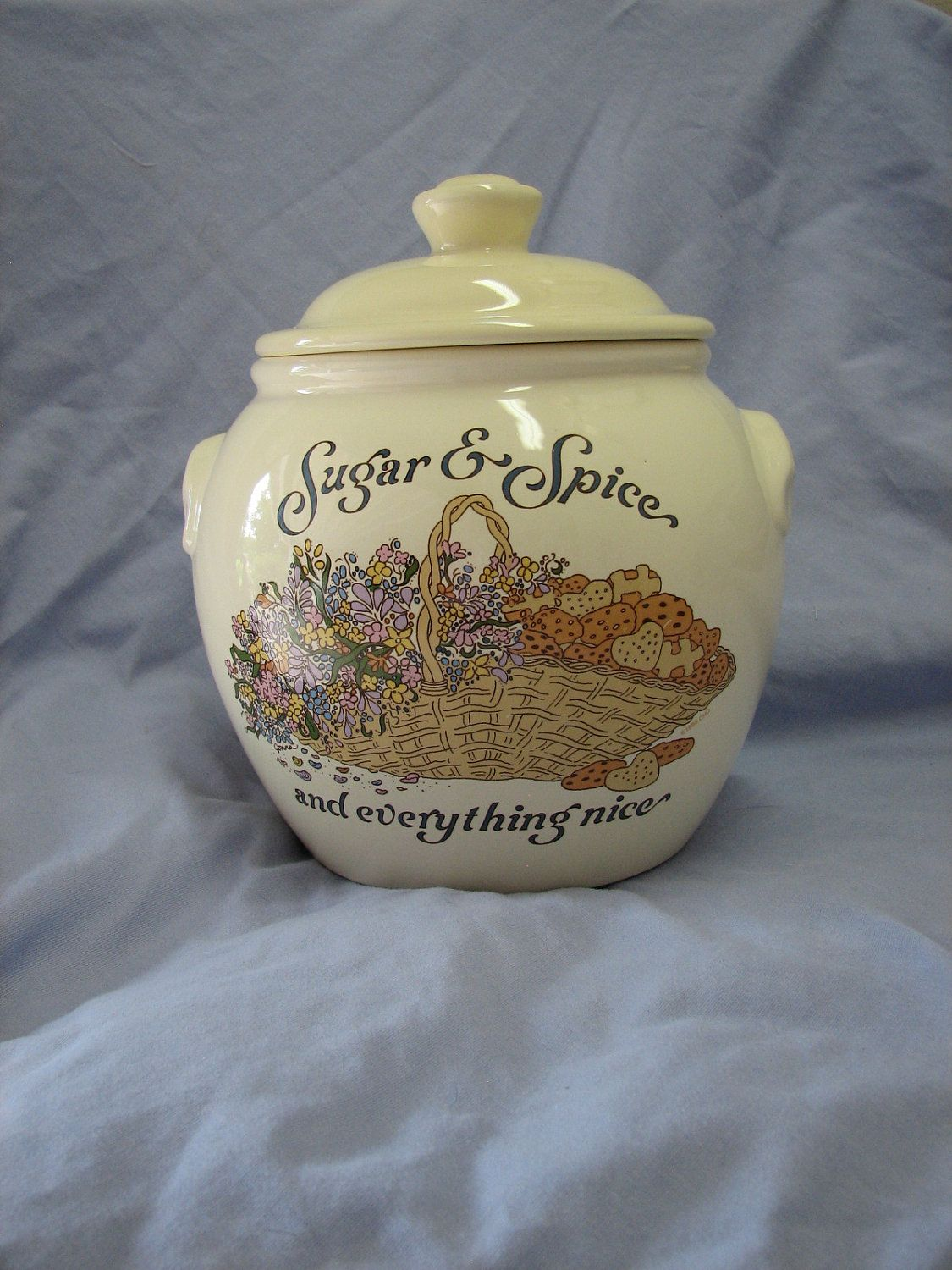 Nice Cookie Jars Vintage Cookie Jar Sugar And Spice And Everything Nice