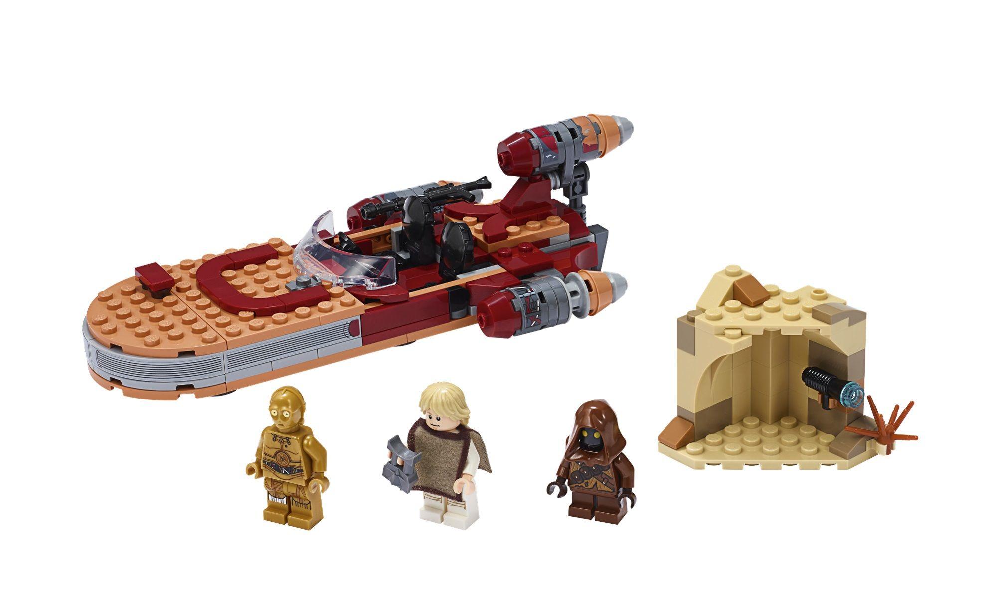 Das Sind Die Ersten Lego Star Wars Sets Im Jahr 2020 Lego Star Wars Star Wars Luke Skywalker Lego Star Wars Sets