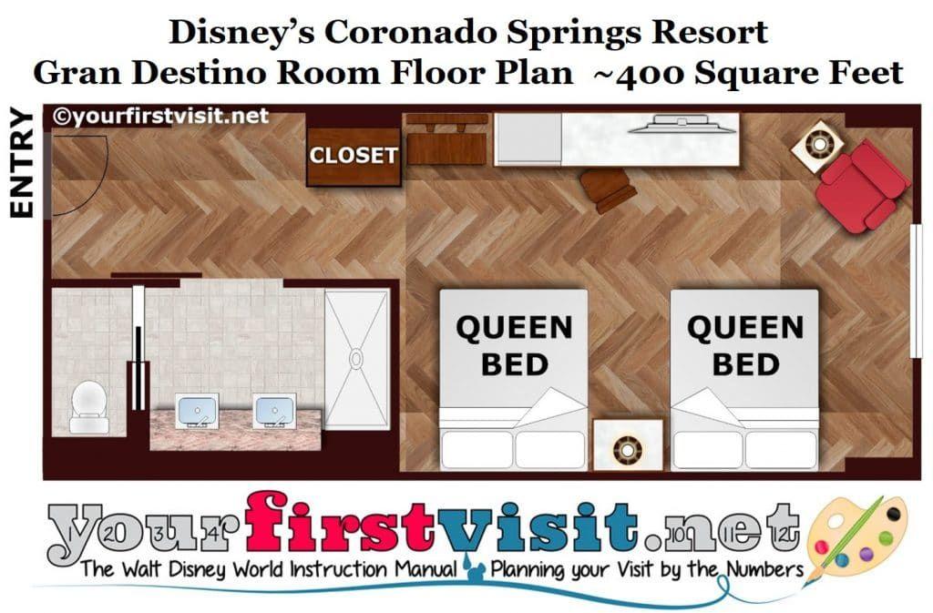 Photo Tour Of A Gran Destino Standard Room At Disney S Coronado Springs Resort Yourfirstvisit Net Coronado Springs Resort Coronado Springs Resort Disney Disneys Coronado Springs