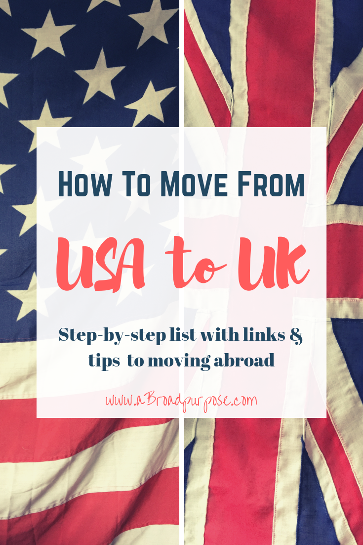 How To Move To The Uk From The Usa Moving To The Uk Move Abroad Abroad