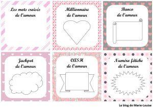 Diy Saint Valentin Bons De Lamour Façon Tickets à Gratter