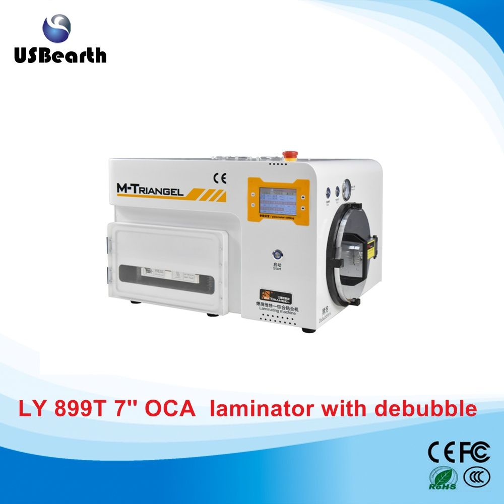 Ly 899t 5 In 1 Oca Lamination Machine Buit In Vacuum Pump Air Compressor Bubble Remover Ship To Russia Free Tax Phone Screen Vacuum Pump Touch Screen