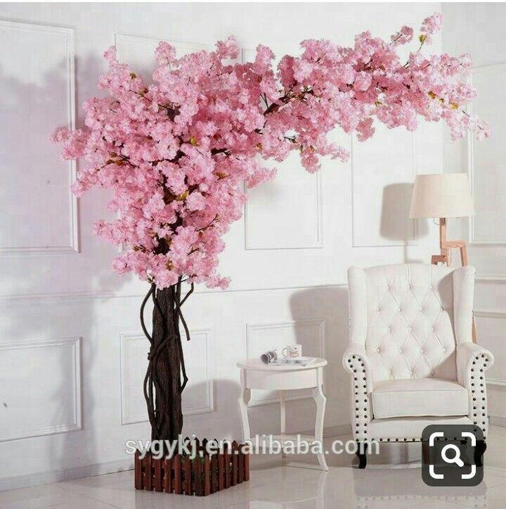 Pin By Sylvia Wako On Rostovye Cvety Cherry Blossom Decor Artificial Cherry Blossom Tree Cherry Blossom Tree