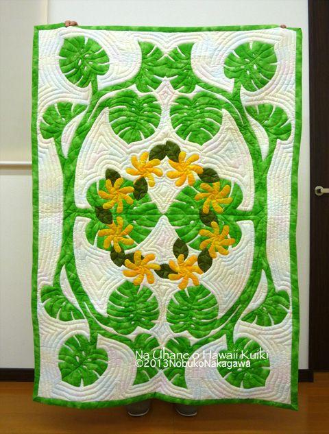 ハワイアンキルト教室ナ・ウハネ・オ・ハワイ・クイキ | Quilts ...