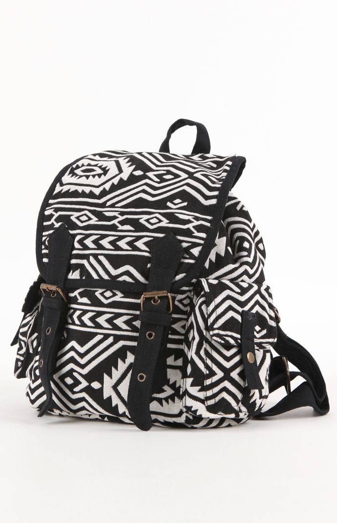 Kirra Tribal Print Backpack Pacsun