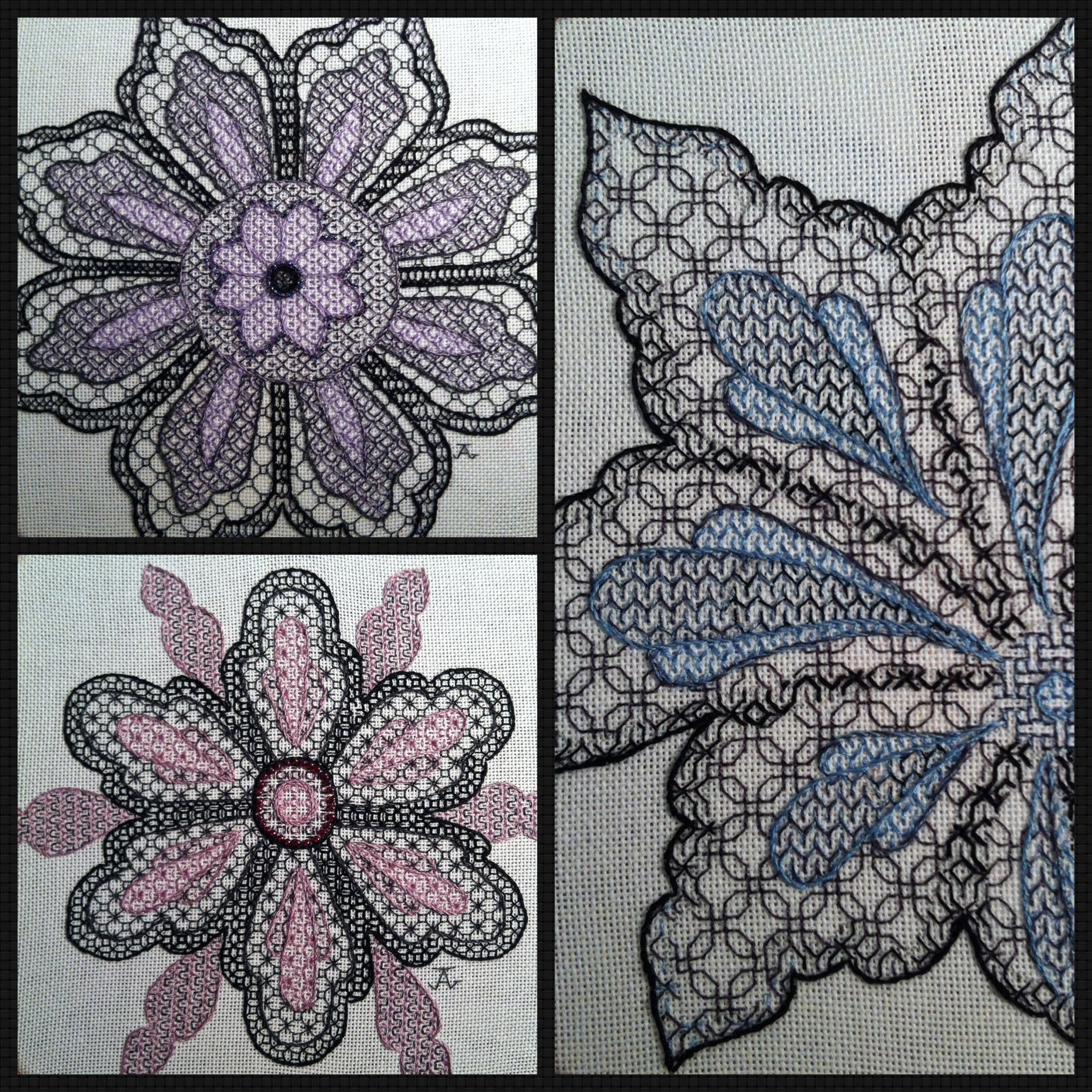 Beginners Blackwork Embroidery Kits (With Images