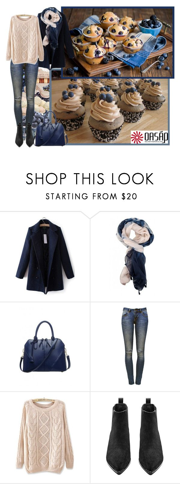 """""""Oasap.com"""" by asia-12 ❤ liked on Polyvore featuring Ladurée, Anine Bing and Acne Studios"""