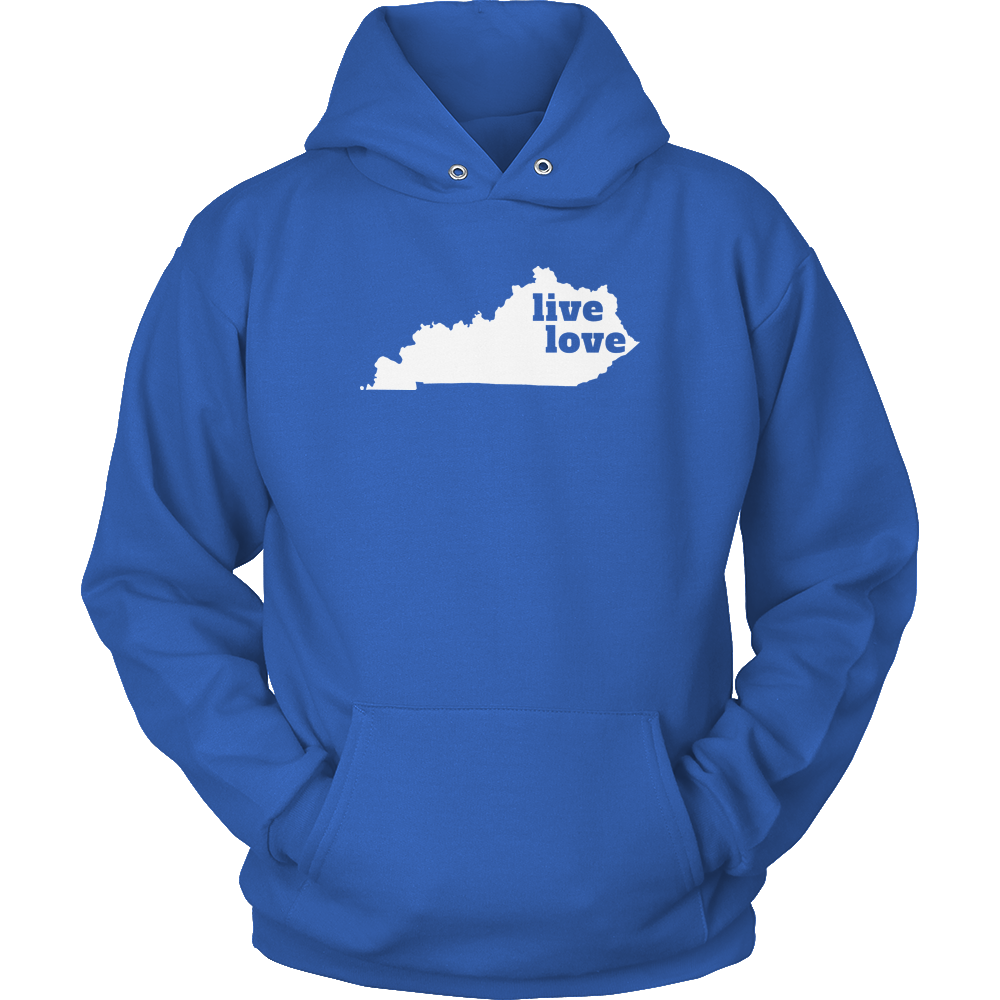 Live Love Kentucky - My State Shirts
