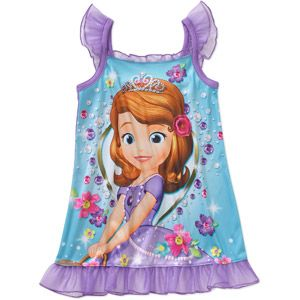 Disney Sofia the First Baby Toddler Girl Short Sleeve Nightgown