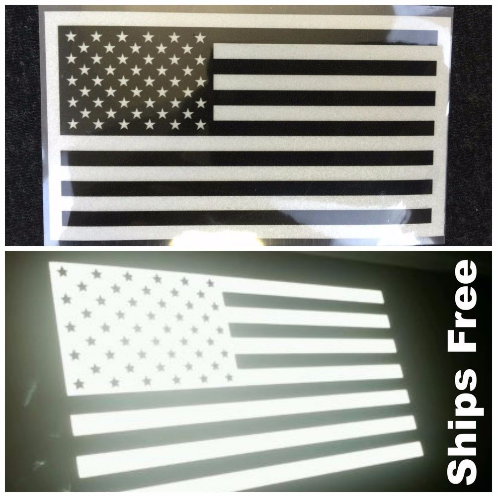 "THIN BLUE LINE AMERICAN FLAG POLICE 3D EMBLEM STICKER BADGE LOGO DECAL 3.2/""x1.8/"""