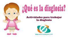 La disglosia es un trastorno permanente del habla que precisa un constante entrenamiento, te recomendamos algunas actividades para trabajar con niños