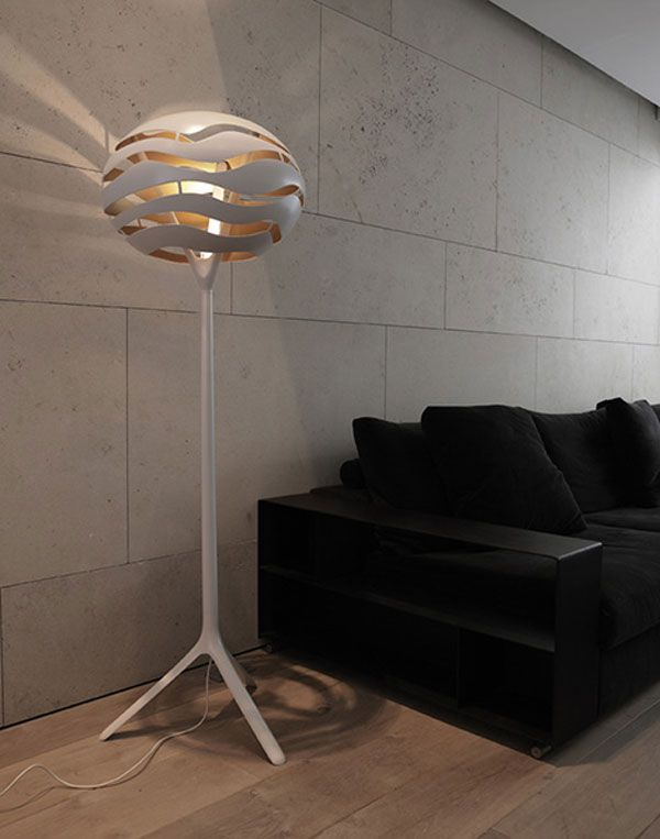 Stylish Floor Lamp With Interesting Lighting Effects Floor Lamps
