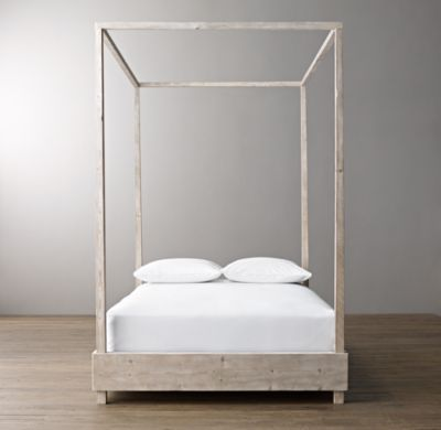 Callum Platform Canopy Bed For Daughter S Room With Images