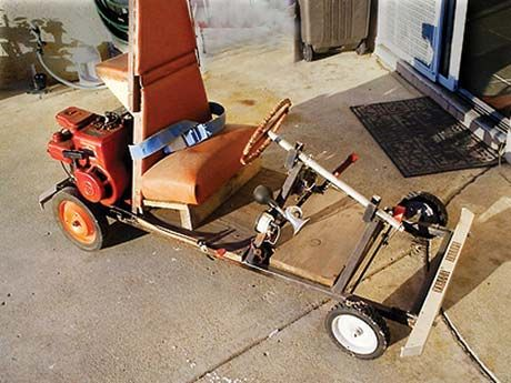Hybrid Gokart Reminds Me Of Something My Daddy Would Have Created