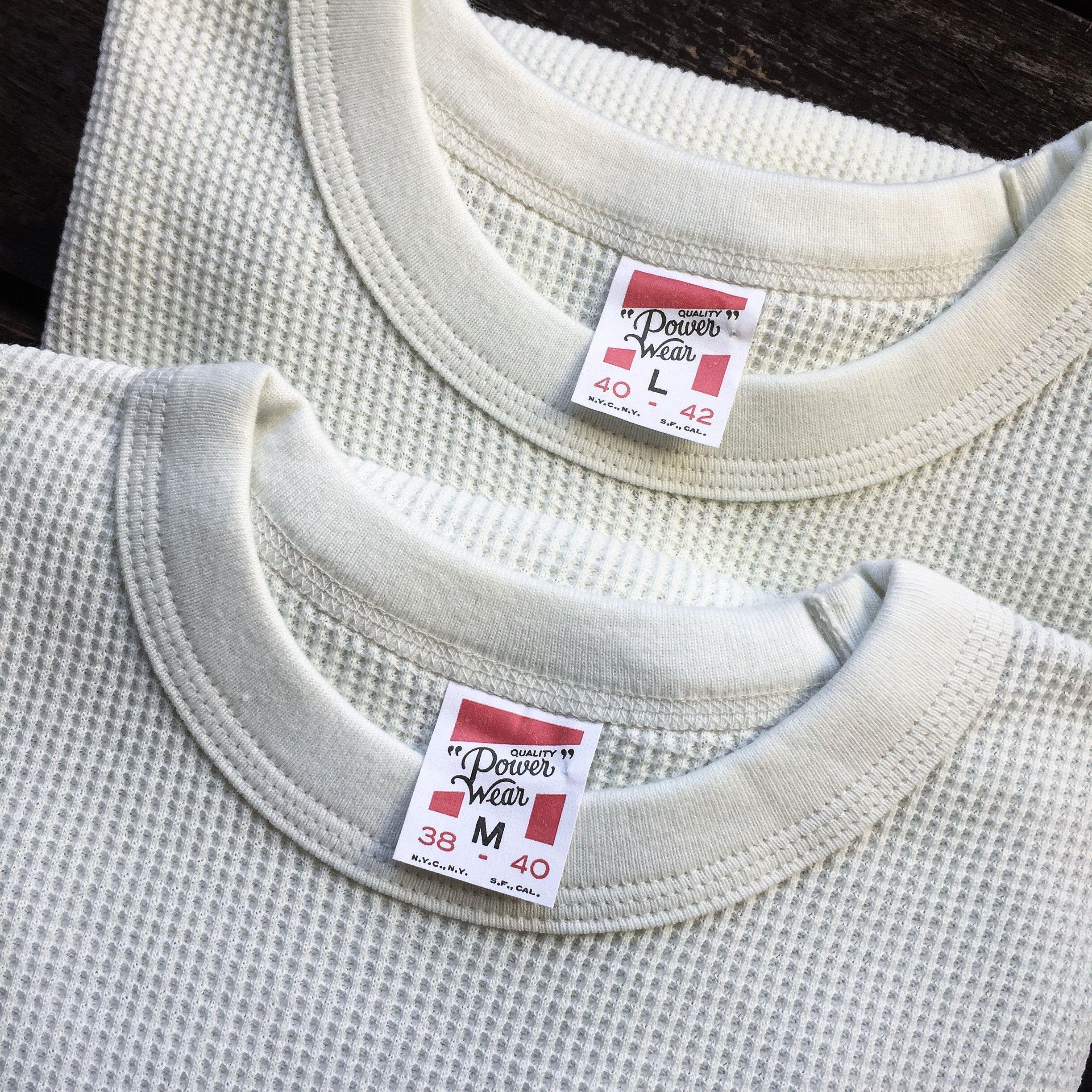 "Freewheelers ""Power Wear"" Thermal Sweater. (made in japan, desolation row, waffle weave)"