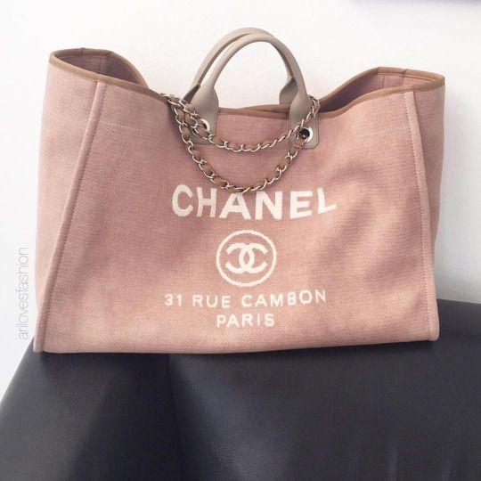 1aecff45b CHANEL Deauville Tote | Chanel | Bags, Chanel handbags, Chanel