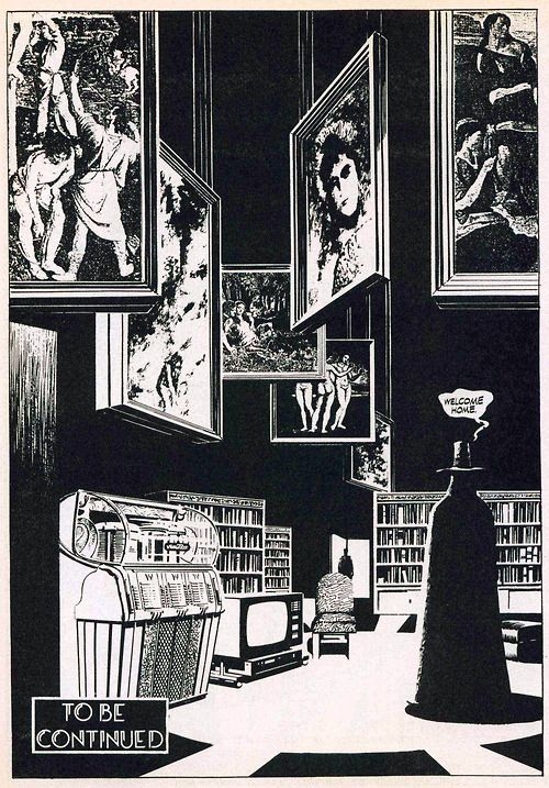 Page From The Original Black And White Version Of V For Vendetta By David Lloyd And Alan Moore From Warrior V For Vendetta Comic V For Vendetta Pop Art Comic