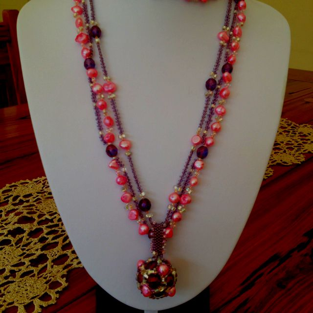 Fresh water pearl chain necklace. From Heather@laithwaite.net