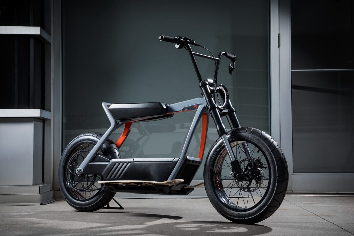 Harley Davidson Releases Livewire Specs And Two Wacky E Bike Concepts In 2020 Electric Moped New Electric Bike Concept Motorcycles