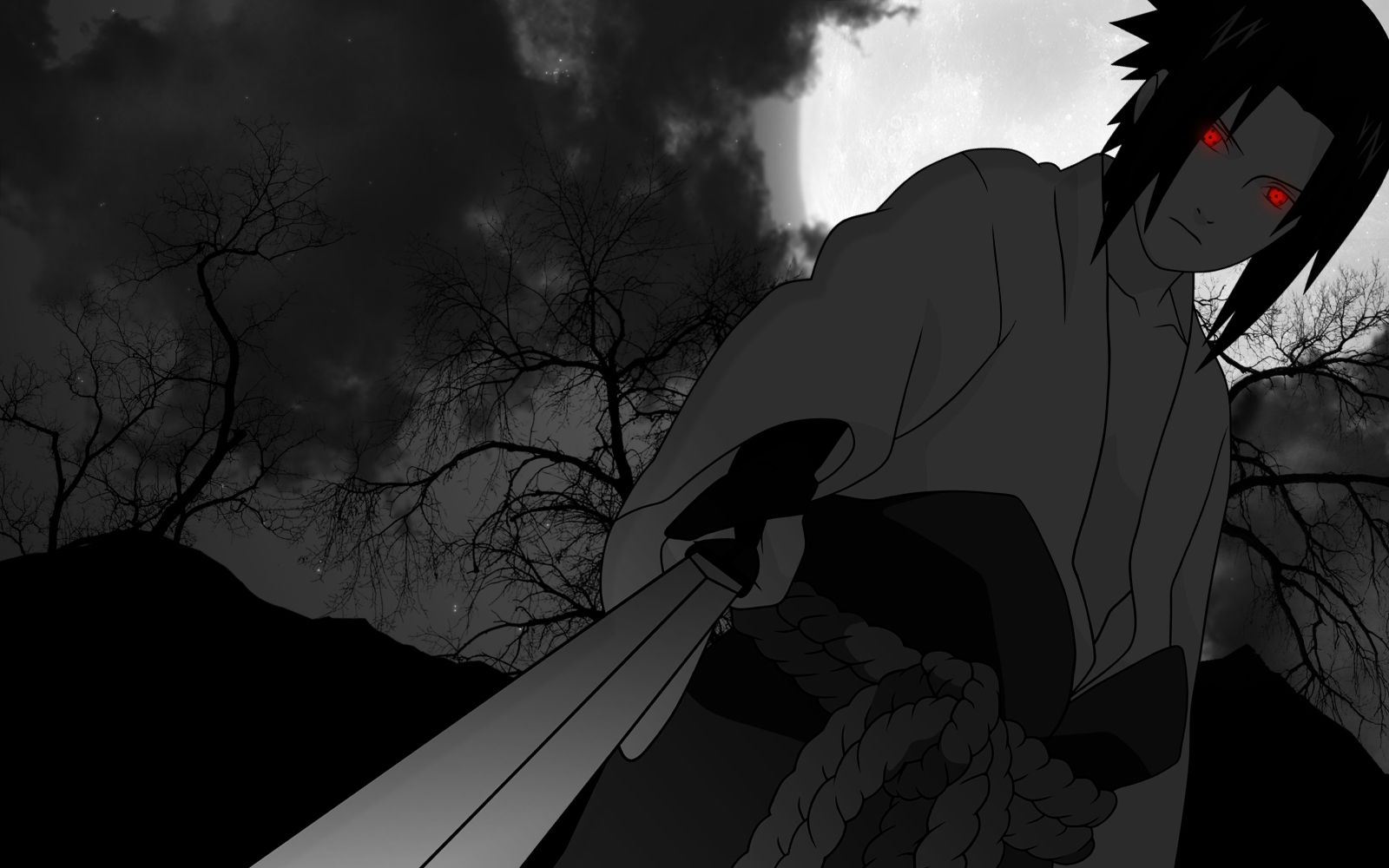 Uchiha Sasuke Chokuto Sword Full Hd Wallpaper Your Hd Wallpaper