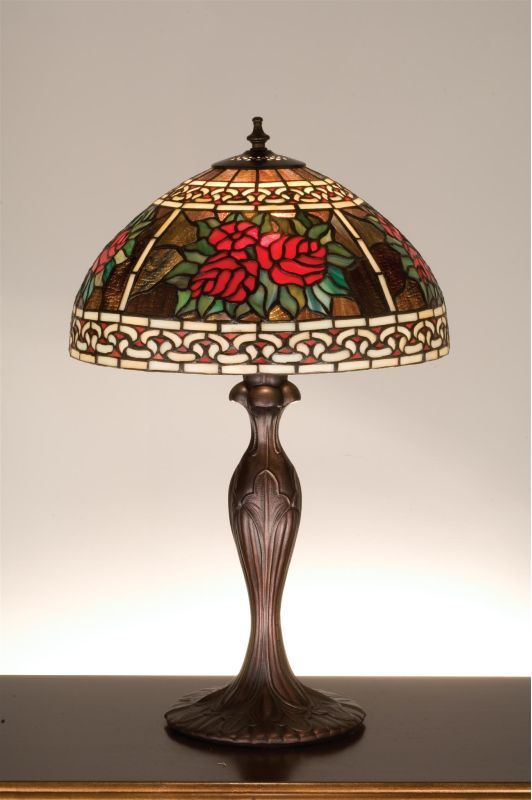 Tiffany 37789 stained glass tiffany table lamp from the roses meyda tiffany 37789 stained glass tiffany table lamp from the roses scrolls tiffany glass lamps table aloadofball Choice Image