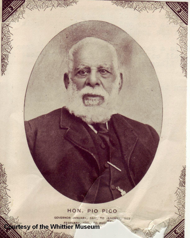 Pio pico was born in 1801 in mission san gabriel according to his records his