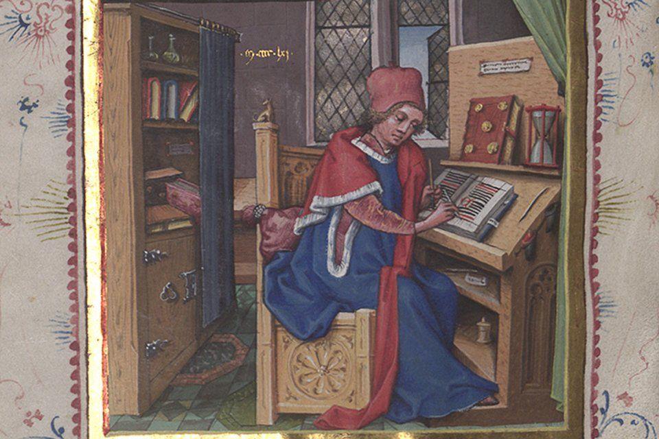 выборе материал на котором в период средневековья писали книги никогда