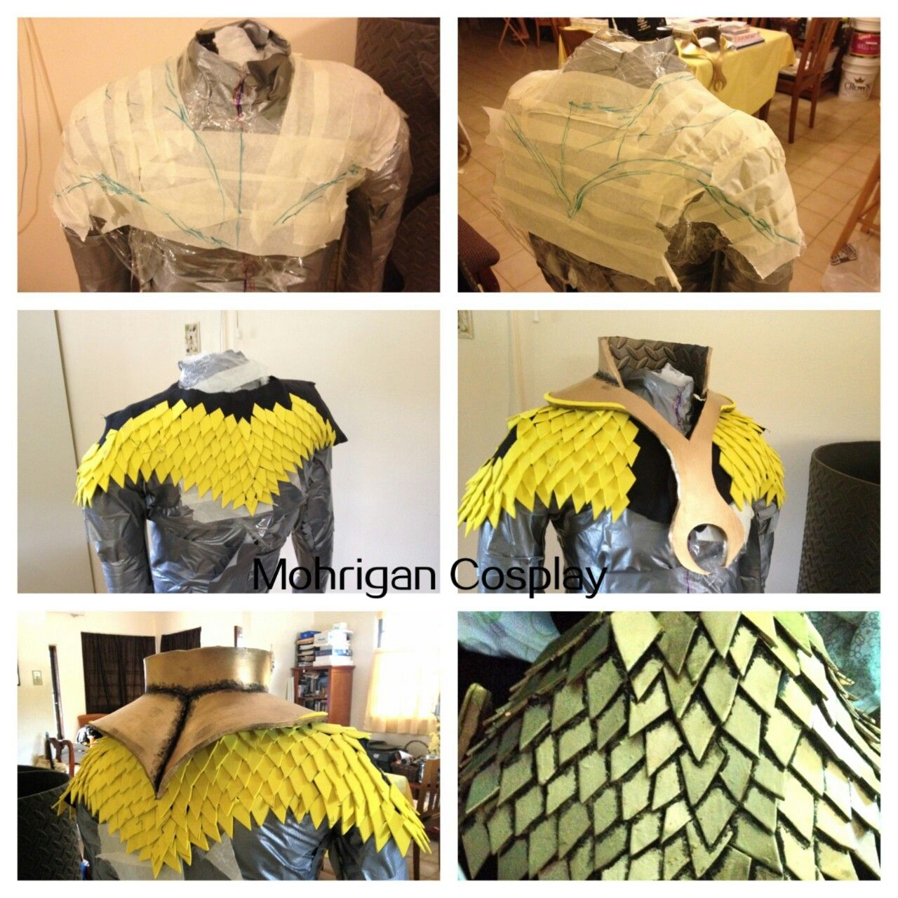 Scales Top Tutorial Page Www Facebook Com M Cosplay This
