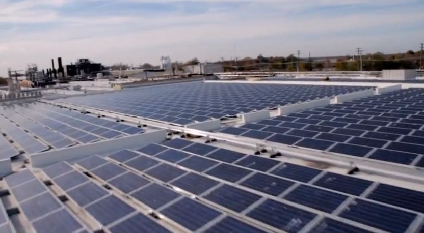 Happy Earth Day Did You Know That On The Roof Of Our Nj Headquarters Is The Industry S Largest Solar Array Of Solar Panels 3 3 Acres They Generate Over 1