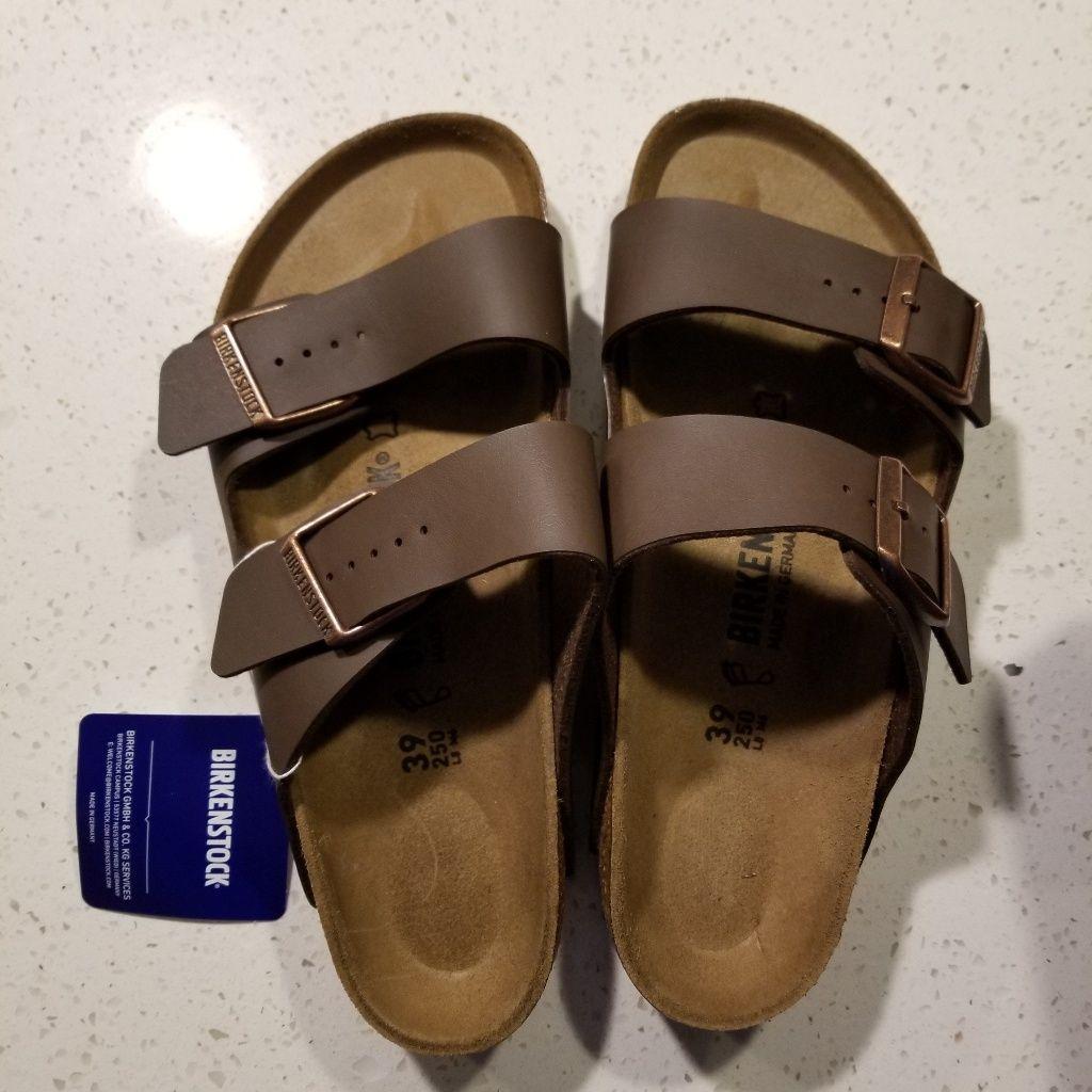 Birkenstock Shoes Arizona Birkenstock Womens 8 Nwt Firm Price Color Brown Size 8 Birkenstock Birkenstock Arizona Women S Shoes Sandals