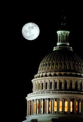 Super Moon over Capitol